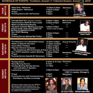 Holy Convocation 2016 Product