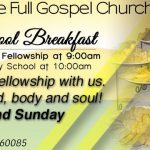Liberty Temple Waukegan Sunday School Breakfast