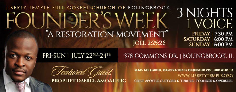 Liberty Bolingbrook Founder's Week 2016