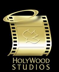 Holywood Logo Black Background Logo