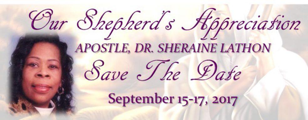 Apostle Lathons Appreciation Sept 15 17 2017