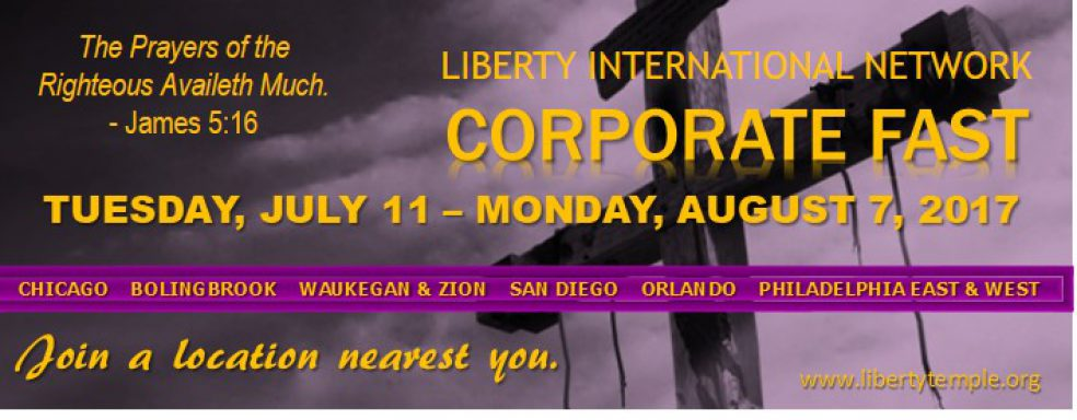 July Corporate Fast 2017