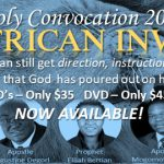 Holy Convocation 2017 CD/DVD