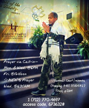 Liberty Temple Waukegan Prayer