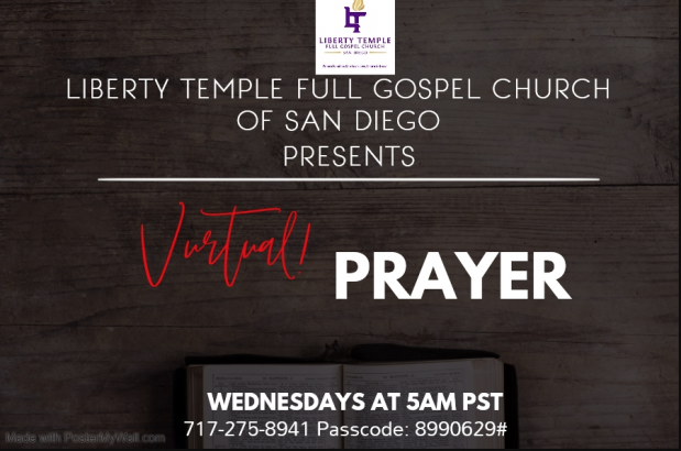 Liberty Temple San Diego Virtual Prayer